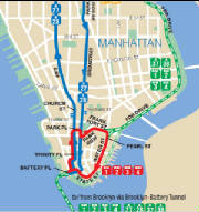 X28 Sea Gate Bensonhurst Manhattan Express Via Surf Av