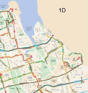 QM Bus Route Lake Success Midtown - Queens bus map