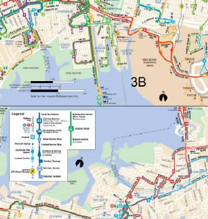 QM Bus Route Glendale Midtown - Queens bus map