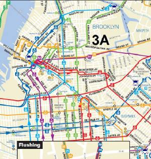 Q Jamaica Metropolitan Avenues - Queens bus map