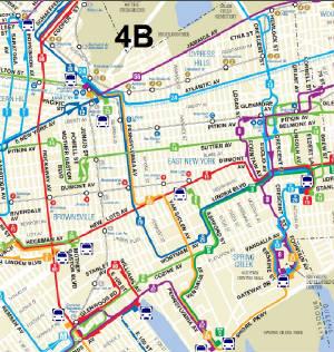 Q Bus Route Jamaica Av - Queens bus map