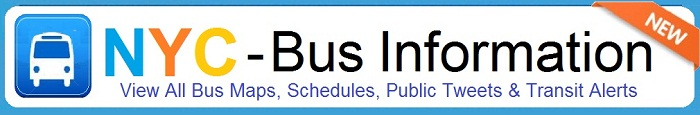 New York City Metro Bus Maps & schedules